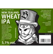 New Zealand Wheat IPA - Szűretlen.hu